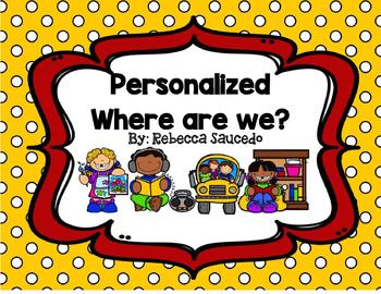 Personalized Where are we Signs