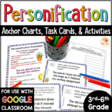 Personification Task Cards and Activities