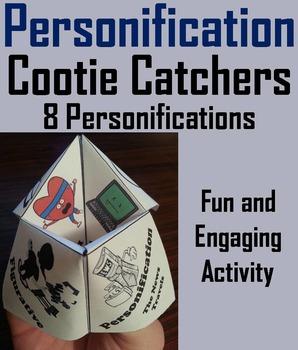 Personification Activity: Figurative Language Foldable 4th 5th 6th 7th 8th Grade
