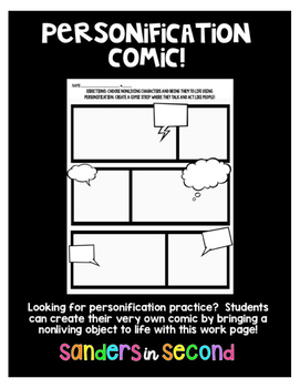 Personification Comic