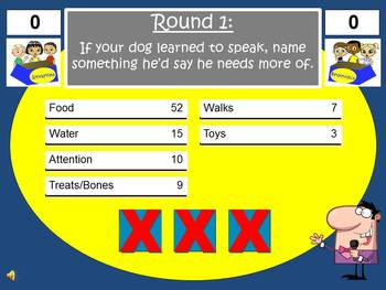 Personification Feud Powerpoint Game