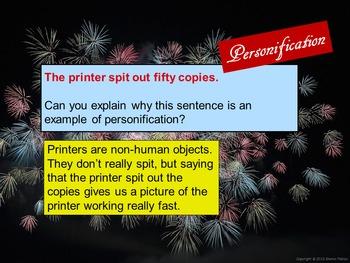 Personification - Figurative Language Practice