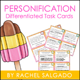 Figurative Language: Personification Task Cards