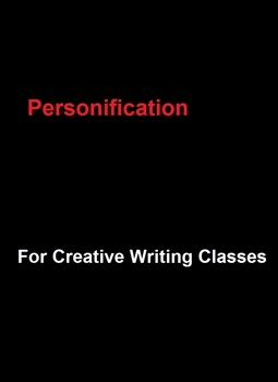 Personification For Creative Writing Classes