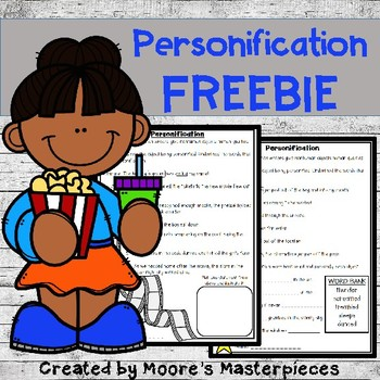 Personification Freebie