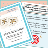 Personification Lessons and Activities