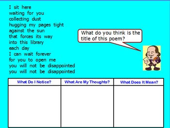 Personification Poetry Mini-Lesson (ActivInspire)