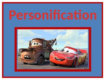 Personification Power Point
