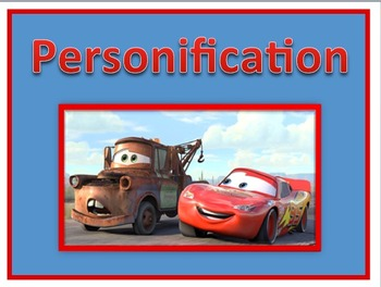 Personification Power Point Lesson and Interactive Quiz