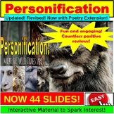 Personification : PowerPoint Lesson and Exercises