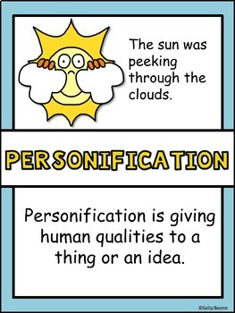 Personification Activities Figurative Language - Personification Resources