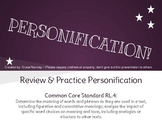 Personification Review & Practice