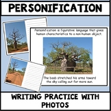 Figurative Language Personification Resources using Boab Trees