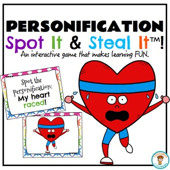 Personification Spot It & Steal It Game