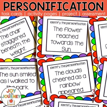 Personification Activity Packet