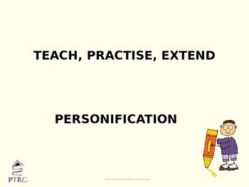 Personification Teaching PowerPoint