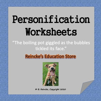 Personification Worksheets (5)