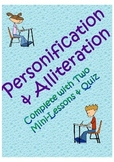 Personification and Alliteration Lesson and Quiz