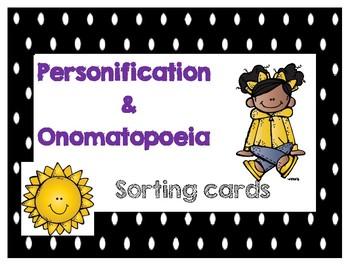 Personification and Onomatopoeia activities