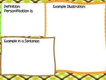 Personification in Fables mini lesson
