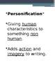 Personification lesson bundle