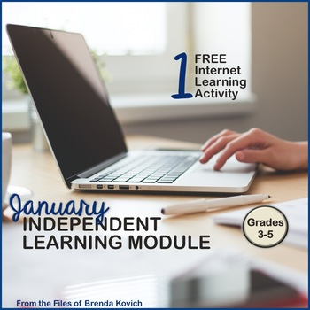 Jack Frost - Free Sample from the January Independent Learning Module ILM