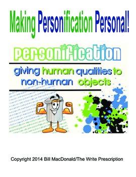 Figurative Language:  Making Personification Personal