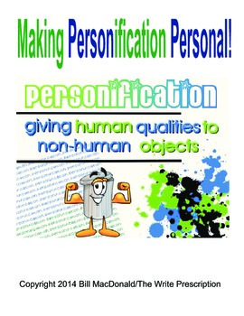 Figurative Language:  Making Personification Personal