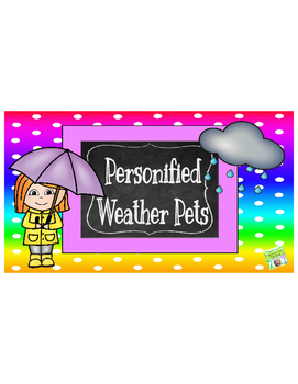 Personified Weather Pets