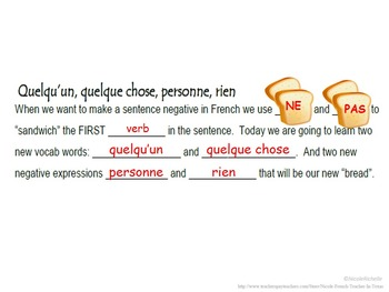 Personne, Rien (Advanced Negatives): French Quick Lesson