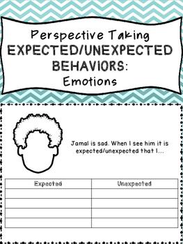 Perspecitve Taking Expected/Unexpected Behaviors