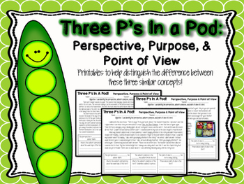 Perspective, Author's Purpose & Point of View