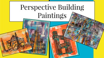Perspective Building Paintings