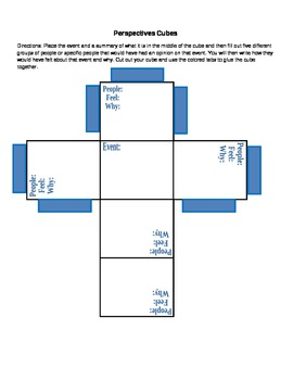 Perspective Cubes for Fugitive Slave Act