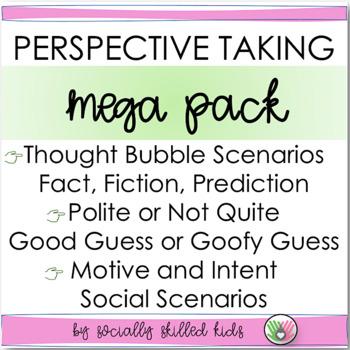 PERSPECTIVE TAKING ACTIVITIES: Perspective Detective~ MEGA