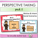 PERSPECTIVE TAKING  and SOCIAL SKILLS ACTIVITIES  BUNDLE Pack 3