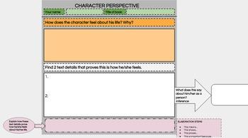 Perspective Digital Interactive Anchor Charts and Student Charts