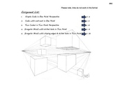 Perspective Drawing Project - Basic Drafting