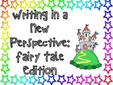 Perspective Lesson - Creative Writing, Fairy Tales (Editable)