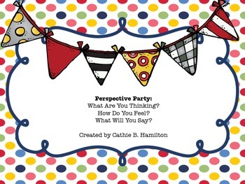 Perspective Party for Speech & Language Therapy: Think-Feel-Say Edition