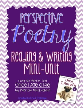 Reading and Writing POETRY Mini-Unit