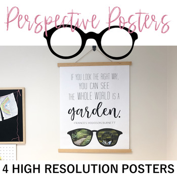 Perspective Posters: Set of 4 High Resolution Posters