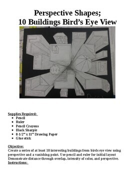"""Draw """"Perspective Buildings"""" From A  Birdseye View"""