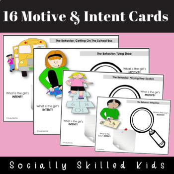 PERSPECTIVE TAKING ACTIVITIES  Understanding Motive and Intent {For 1st-5th}