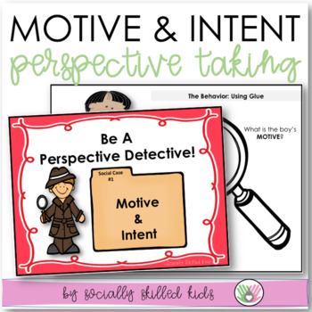 PERSPECTIVE TAKING: Motive and Intent