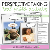 PERSPECTIVE TAKING Photo Activity Cards, Set 1 {What Are They Thinking?}