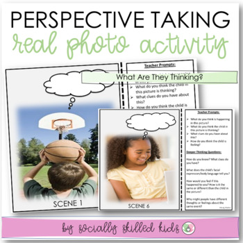 PERSPECTIVE TAKING Activity Cards: Real Life Photos~ Set 1