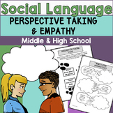 Perspective Taking & Empathy: Social Language Middle & High School