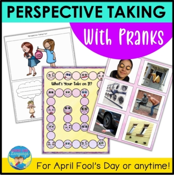 Social Skills Activities: Perspectives, Pranks & Solving Problems