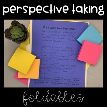 Social Skills Interactive Notebook (Perspective Taking)